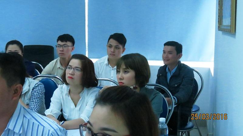 dao tao ban hang cho cong ty dai bac danang 3 Chăm sóc khách chuyên nghiệp cho Tập đoàn Đại Bắc