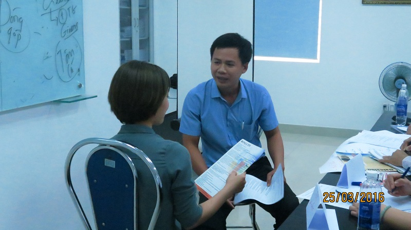 dao tao ban hang cho cong ty dai bac danang 6 Chăm sóc khách chuyên nghiệp cho Tập đoàn Đại Bắc