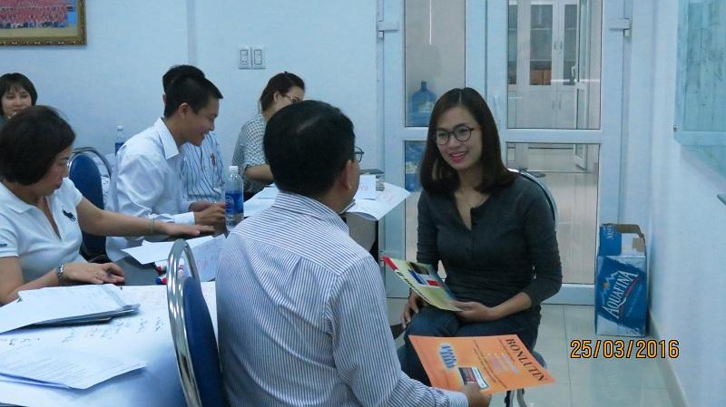 dao tao ban hang cho cong ty dai bac danang 7 Chăm sóc khách chuyên nghiệp cho Tập đoàn Đại Bắc
