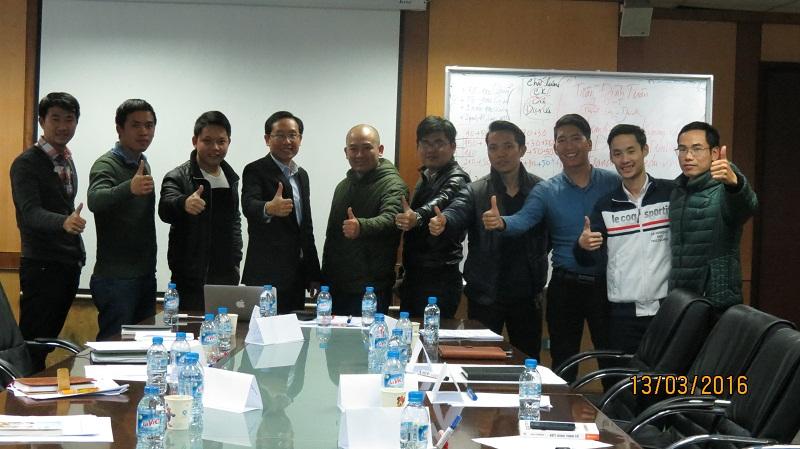 Đào tạo kỹ năng bán hàng và chăm sóc khách hàng khóa tháng 03-2016 tại Hà Nội
