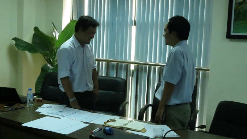 dao tao cho evn itc 12 Đào Tạo Kỹ Năng Huấn Luyện Nhân Viên Cho Lãnh Đạo EVN ICT
