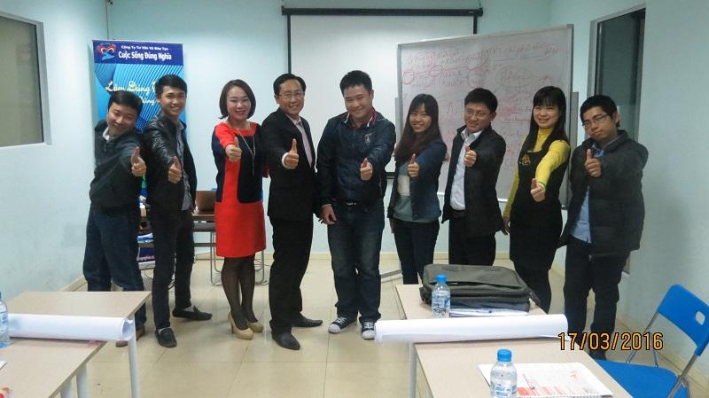 Đào Tạo kèm cặp Kỹ Năng Giao Tiếp và Thuyết Trình Hiệu Quả khóa tháng 03/2016 tại Hà Nội