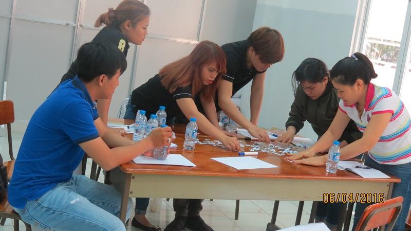 dao tao ban hang cong ty an nam 14 Đào Tạo Kỹ năng bán hàng và chăm sóc khách hàng chuyên nghiệp Cho Công Ty Hồng An và Mỹ Phẩm Hàn Quốc