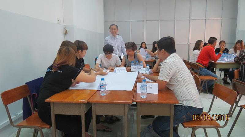 dao tao ban hang cong ty an nam 3 Đào Tạo Kỹ năng bán hàng và chăm sóc khách hàng chuyên nghiệp Cho Công Ty Hồng An và Mỹ Phẩm Hàn Quốc