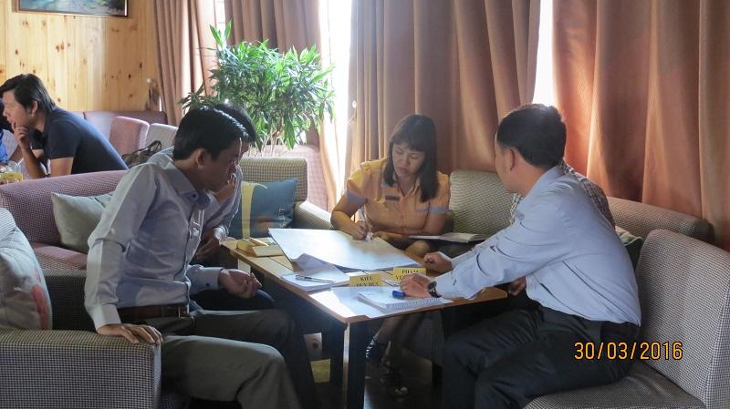 dao tao cong ty vinh phat nha trang 1 Đào tạo kỹ năng Phát Huy Tiềm Năng   Gắn Kết Đội Ngũ cho Công Ty Vĩnh Phát