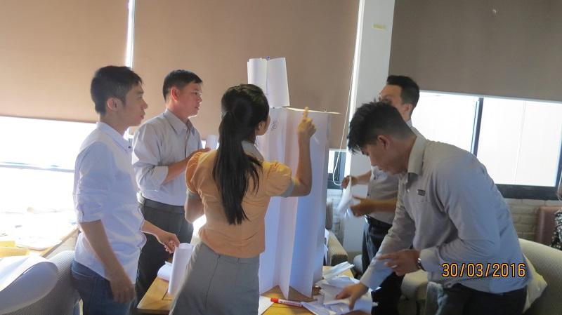 dao tao cong ty vinh phat nha trang 10 Đào tạo kỹ năng Phát Huy Tiềm Năng   Gắn Kết Đội Ngũ cho Công Ty Vĩnh Phát