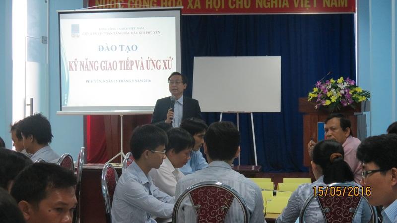 IMG 8001 Đào Tạo Kỹ Năng Giao Tiếp Cho Công ty PVI OIL Phú Yên