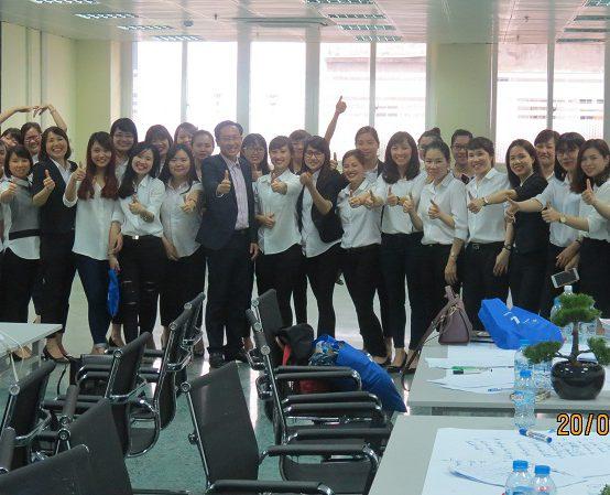 Đào Tạo Kỹ Năng Bán Hàng Cho Tập Đoàn TNG