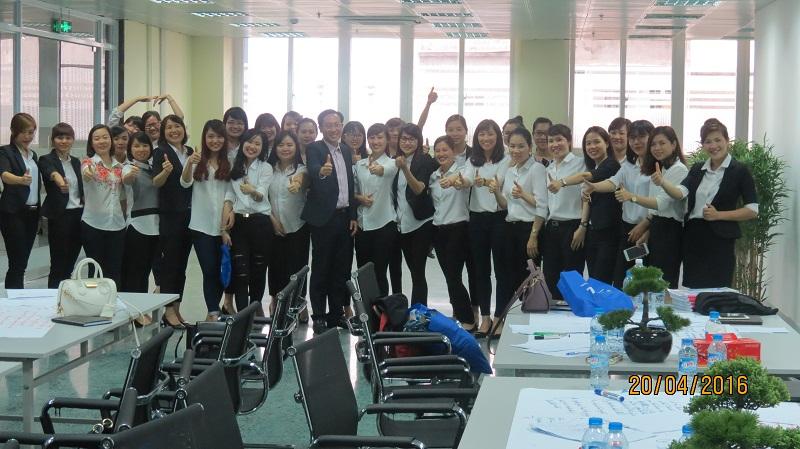 dao tao cho tng 11 Đào Tạo Kỹ Năng Bán Hàng Cho Tập Đoàn TNG