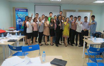 Đào tạo Kỹ năng giao tiếp và Trình bày cho học viên Trung tâm Hà Nội