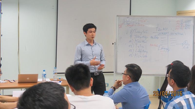 dao tao ky nang giao tiep va trinh bay 25 04 16 tai ha noi 7 Đào tạo Kỹ năng giao tiếp và Trình bày cho học viên Trung tâm Hà Nội