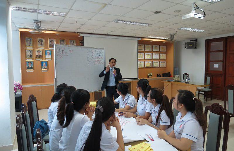dao tao dieu duong benh vien 108 lop2 1 800x516 Đào tạo cho Điều Dưỡng Bệnh Viện Trung Ương Quân Đội 108 lần 2 lớp 02