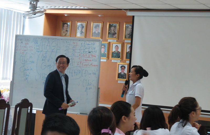 dao tao dieu duong benh vien 108 lop2 5 800x516 Đào tạo cho Điều Dưỡng Bệnh Viện Trung Ương Quân Đội 108 lần 2 lớp 02