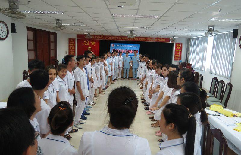 dao tao ky nang giao tiep ung xu benh vien 108 10 800x516 Đào tạo cho Điều Dưỡng Bệnh Viện Trung Ương Quân Đội 108 lần 2