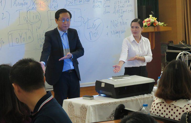 dao tao van hoa doanh nghiep ngan hang agribank 4 800x516 Đào tạo Inhouse chương trình Văn Hóa Doanh Nghiệp Ngân Hàng Agribank Hà Nội