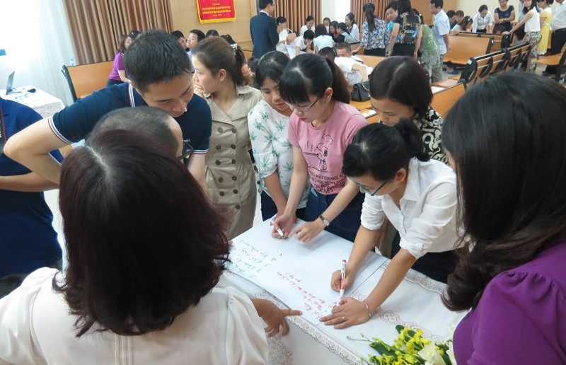 dao tao van hoa doanh nghiep ngan hang agribank 5 800x516 Đào tạo Inhouse chương trình Văn Hóa Doanh Nghiệp Ngân Hàng Agribank Hà Nội
