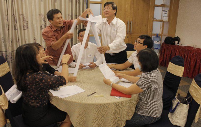 bidv02 33 818x516 Đào tạo cho BIDV Hồ Chí Minh: Kỹ năng truyền lửa và tạo động lực cho nhân viên