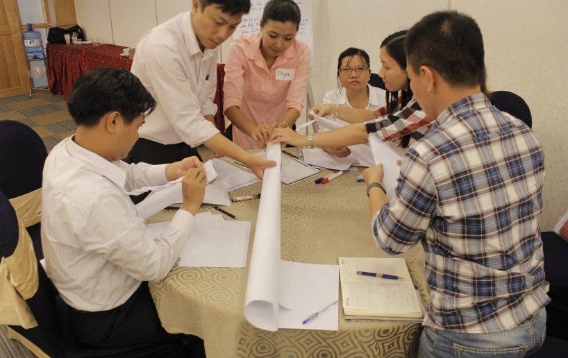 bidv02 36 818x516 Đào tạo cho BIDV Hồ Chí Minh: Kỹ năng truyền lửa và tạo động lực cho nhân viên
