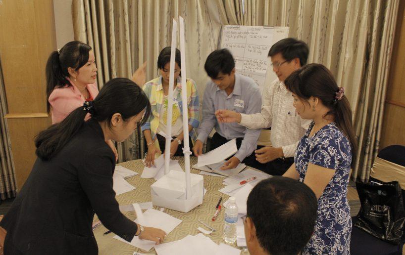 bidv02 37 818x516 Đào tạo cho BIDV Hồ Chí Minh: Kỹ năng truyền lửa và tạo động lực cho nhân viên