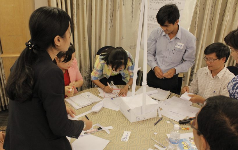 bidv02 40 818x516 Đào tạo cho BIDV Hồ Chí Minh: Kỹ năng truyền lửa và tạo động lực cho nhân viên
