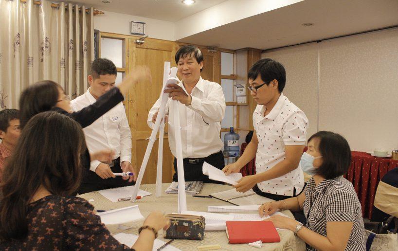 bidv02 45 818x516 Đào tạo cho BIDV Hồ Chí Minh: Kỹ năng truyền lửa và tạo động lực cho nhân viên