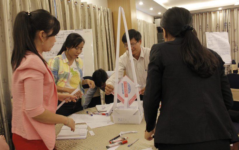 bidv02 47 818x516 Đào tạo cho BIDV Hồ Chí Minh: Kỹ năng truyền lửa và tạo động lực cho nhân viên
