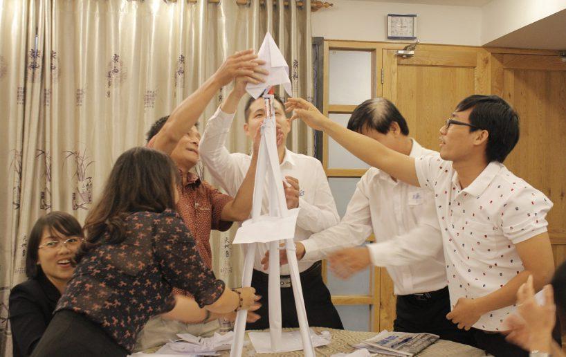 bidv02 50 818x516 Đào tạo cho BIDV Hồ Chí Minh: Kỹ năng truyền lửa và tạo động lực cho nhân viên