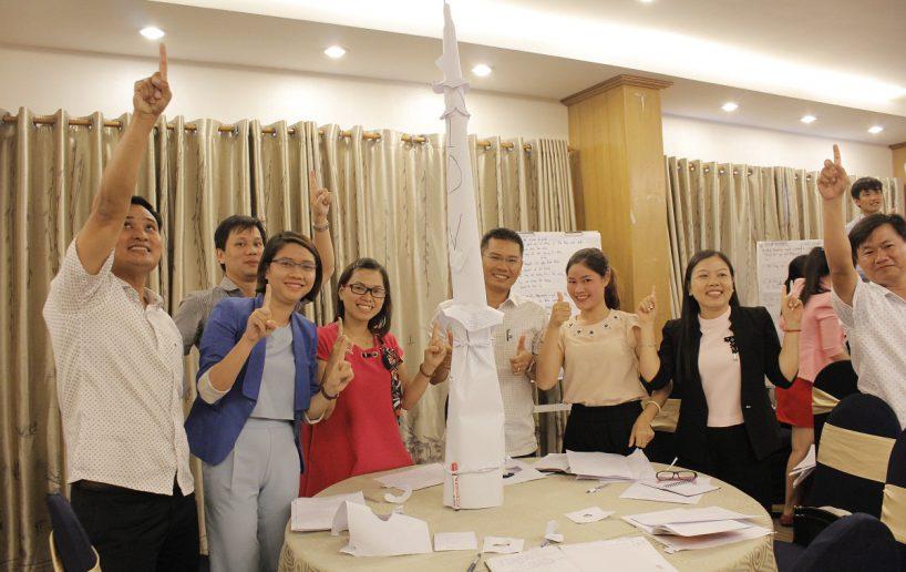bidv02 52 818x516 Đào tạo cho BIDV Hồ Chí Minh: Kỹ năng truyền lửa và tạo động lực cho nhân viên