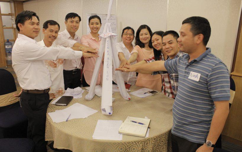 bidv02 53 818x516 Đào tạo cho BIDV Hồ Chí Minh: Kỹ năng truyền lửa và tạo động lực cho nhân viên