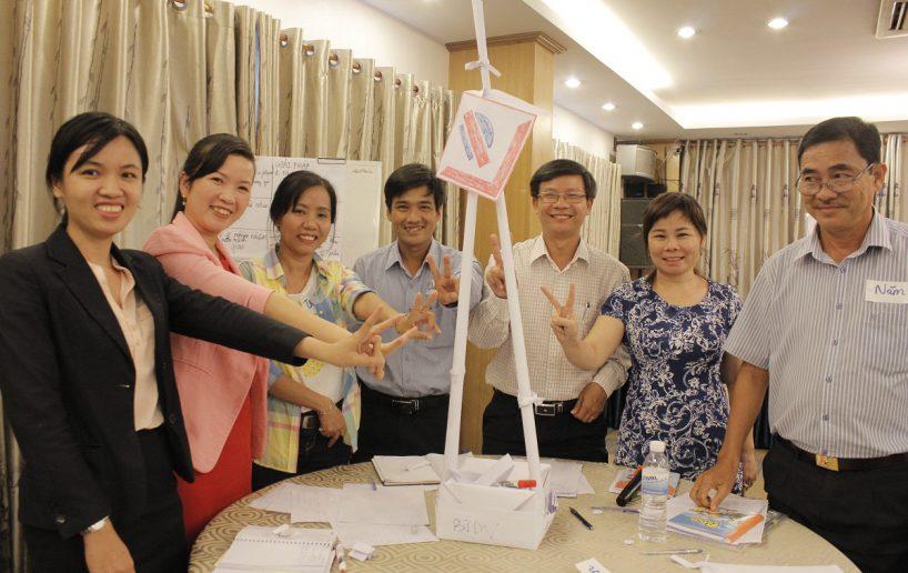 bidv02 54 818x516 Đào tạo cho BIDV Hồ Chí Minh: Kỹ năng truyền lửa và tạo động lực cho nhân viên