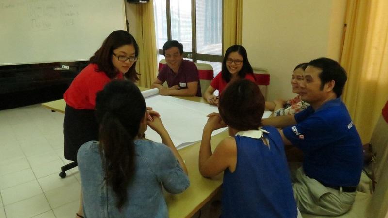 dao tao ngan hang bidv 1 Đào Tạo Inhouse: Kỹ Năng Tạo Động Lực Và Truyền Lửa Ngân Hàng BIDV