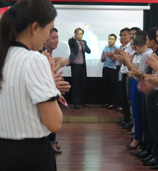 Đào Tạo cho BIDV: Kỹ Năng Truyền Lửa Và Tạo Động Lực Cho Nhân Viên