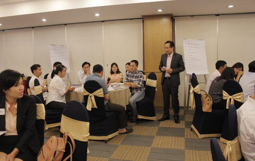 hin anh bidv giang vien 10 818x516 Đào tạo cho BIDV Hồ Chí Minh: Kỹ năng truyền lửa và tạo động lực cho nhân viên