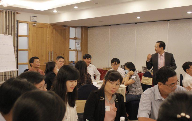 hin anh bidv giang vien 11 818x516 Đào tạo cho BIDV Hồ Chí Minh: Kỹ năng truyền lửa và tạo động lực cho nhân viên