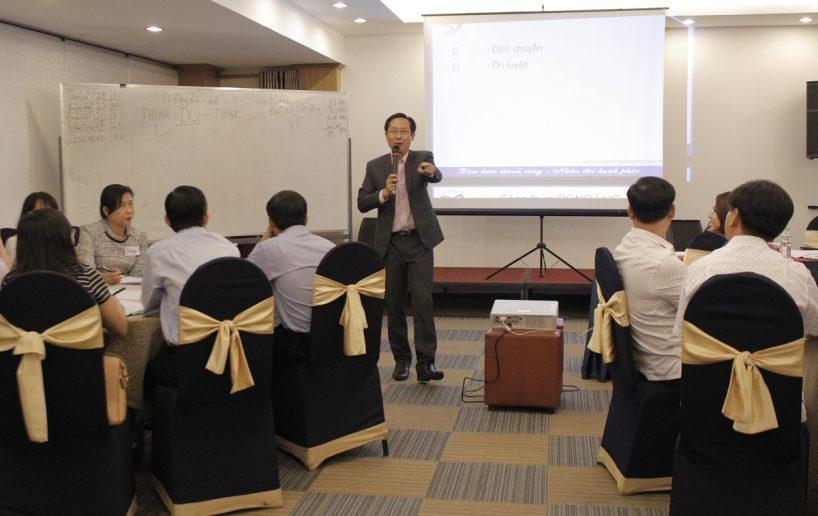hin anh bidv giang vien 5 818x516 Đào tạo cho BIDV Hồ Chí Minh: Kỹ năng truyền lửa và tạo động lực cho nhân viên