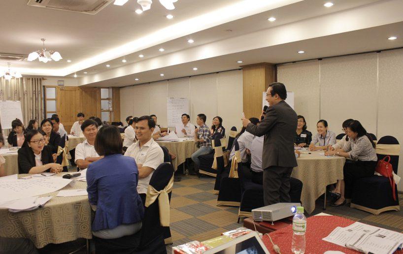 hin anh bidv giang vien 9 818x516 Đào tạo cho BIDV Hồ Chí Minh: Kỹ năng truyền lửa và tạo động lực cho nhân viên