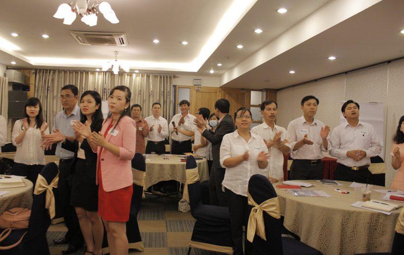 hin anh bidv hoat nao 11 818x516 Đào tạo cho BIDV Hồ Chí Minh: Kỹ năng truyền lửa và tạo động lực cho nhân viên