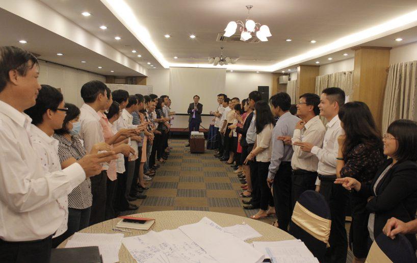 hin anh bidv hoat nao 2 2 818x516 Đào tạo cho BIDV Hồ Chí Minh: Kỹ năng truyền lửa và tạo động lực cho nhân viên