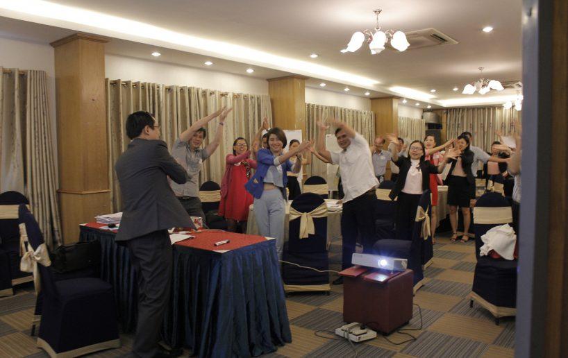 hin anh bidv hoat nao 6 818x516 Đào tạo cho BIDV Hồ Chí Minh: Kỹ năng truyền lửa và tạo động lực cho nhân viên
