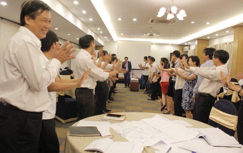 hin anh bidv hoat nao 7 818x516 Đào tạo cho BIDV Hồ Chí Minh: Kỹ năng truyền lửa và tạo động lực cho nhân viên