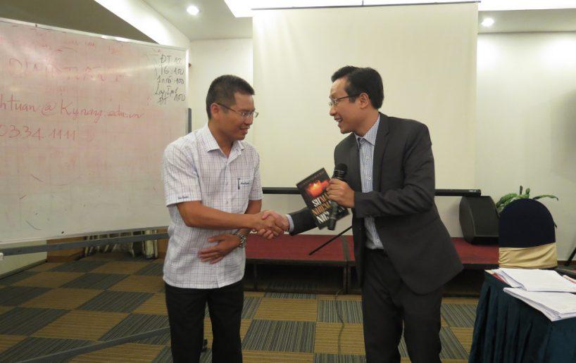 hinh anh bidv hcm 3 818x516 Đào tạo cho BIDV Hồ Chí Minh: Kỹ năng truyền lửa và tạo động lực cho nhân viên