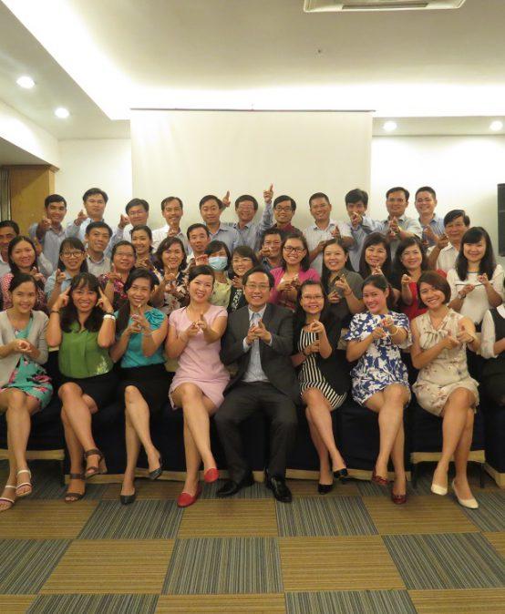 """Đào tạo cho BIDV Hồ Chí Minh: """"Kỹ năng truyền lửa và tạo động lực cho nhân viên"""""""