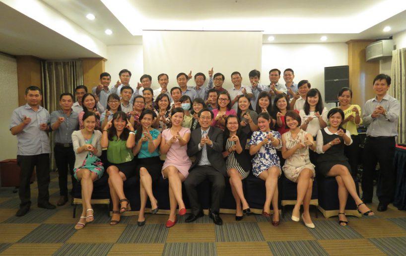 hinh anh bidv hcm 7 818x516 Đào tạo cho BIDV Hồ Chí Minh: Kỹ năng truyền lửa và tạo động lực cho nhân viên
