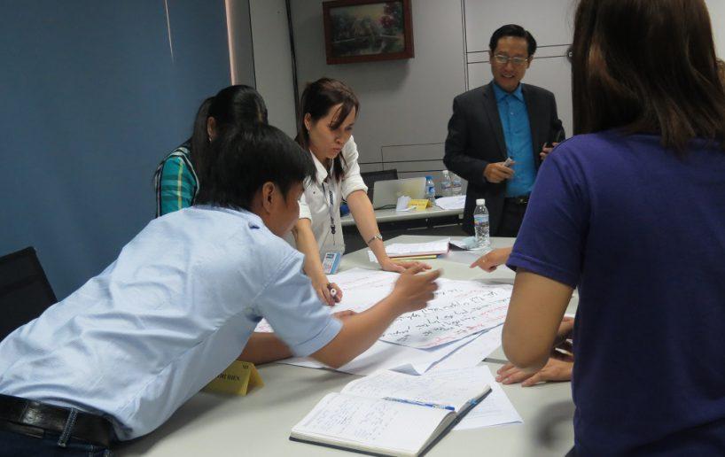 hinh anh dao tao pouyuen dao tao giang vien noi bo 10 818x516 Chương Trình Đào tạo giảng viên nội bộ   Train the trainer cho Công ty Pouyuen