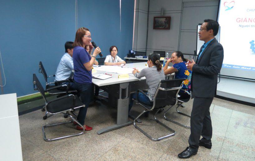 hinh anh dao tao pouyuen dao tao giang vien noi bo 4 2 818x516 Chương Trình Đào tạo giảng viên nội bộ   Train the trainer cho Công ty Pouyuen