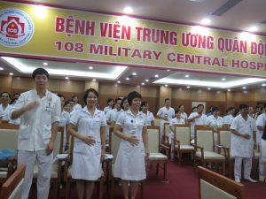 DAO TAO GIAO TIEP UNG XU BENH VIEN 108 lan 710 300x225 Chương trình đào tạo Kỹ Năng Giao Tiếp Và Xử Lý Tình Huống lần thứ 7 cho Bệnh Viên Trung Ương Quân Đội 108