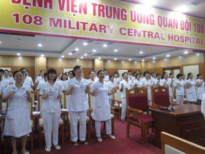DAO TAO GIAO TIEP UNG XU BENH VIEN 1085 300x225 Chương trình đào tạo Kỹ Năng Giao Tiếp Và Xử Lý Tình Huống lần thứ 5 cho Bệnh Viên Trung Ương Quân Đội 108