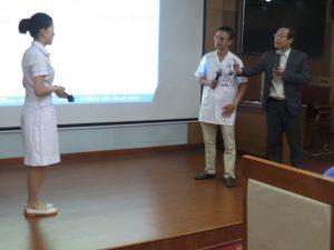 DAO TAO GIAO TIEP UNG XU BENH VIEN 1087 300x225 Chương trình đào tạo Kỹ Năng Giao Tiếp Và Xử Lý Tình Huống lần thứ 5 cho Bệnh Viên Trung Ương Quân Đội 108