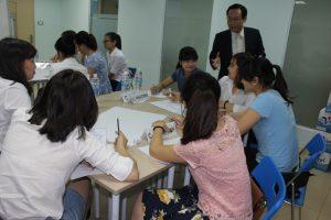 dao tao TNG2 300x200 Chương trình đào tạo Kỹ Năng Giao Tiếp Bán Hàng cho Tập đoàn TNG