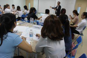 dao tao TNG4 300x200 Chương trình đào tạo Kỹ Năng Giao Tiếp Bán Hàng cho Tập đoàn TNG